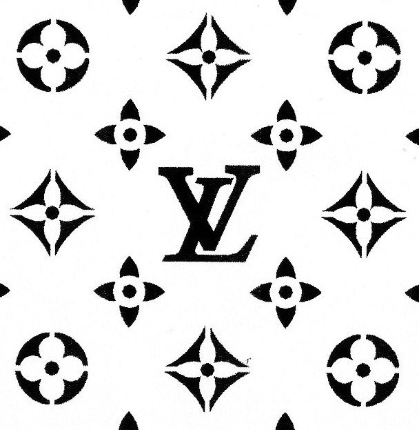 louis vuitton logo black and white stencil - Ten Pixe ...