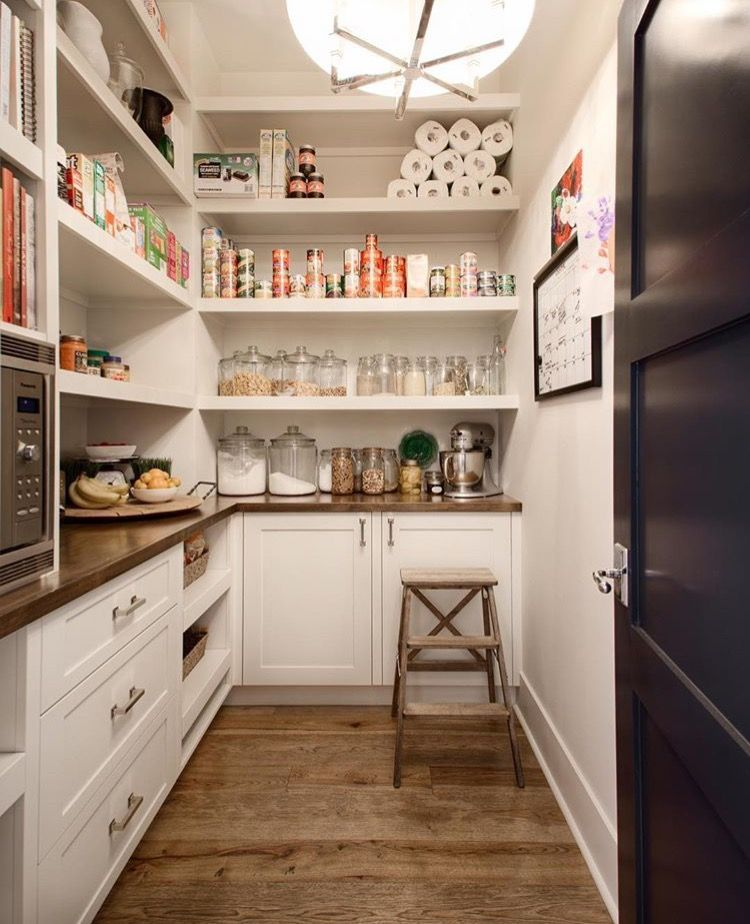 Beautiful Walk In Pantry With Built Ins Pantry Design Kitchen