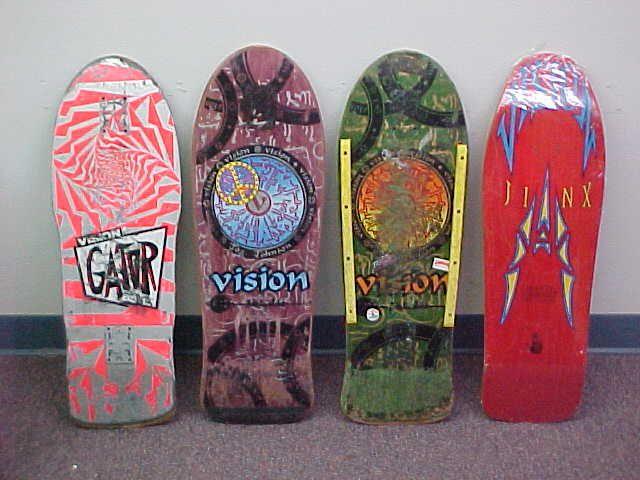 Vision Skateboards Vision Skateboards Skateboard Decks Skateboard