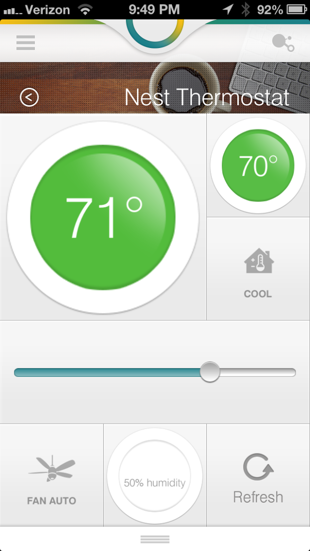 Nest Thermostat on SmartThings Smartthings, Nest