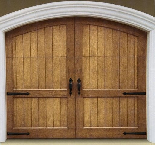 Superb Wooden Garage Doors With An Arched Top Garage Door Decor Carriage House Doors Garage Doors