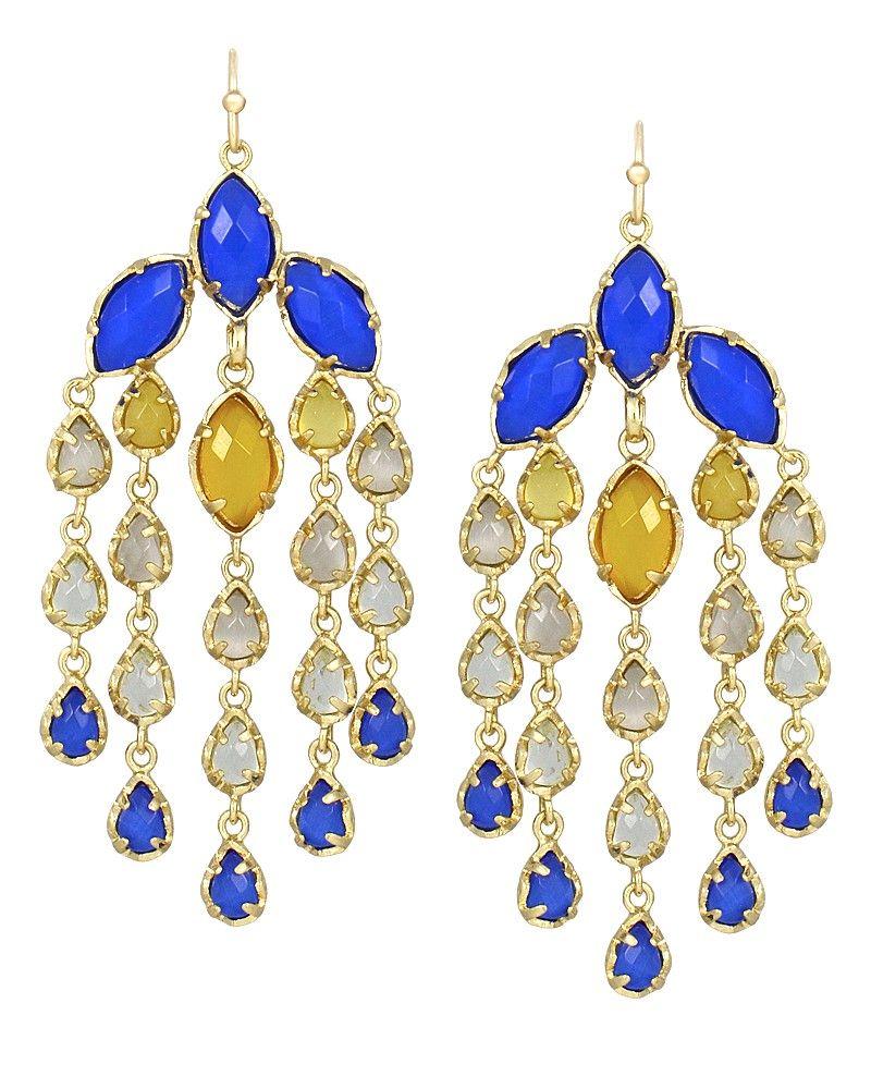 Freesia statement earrings in blue saffron kendra scott jewelry freesia statement earrings in blue saffron kendra scott jewelry arubaitofo Images