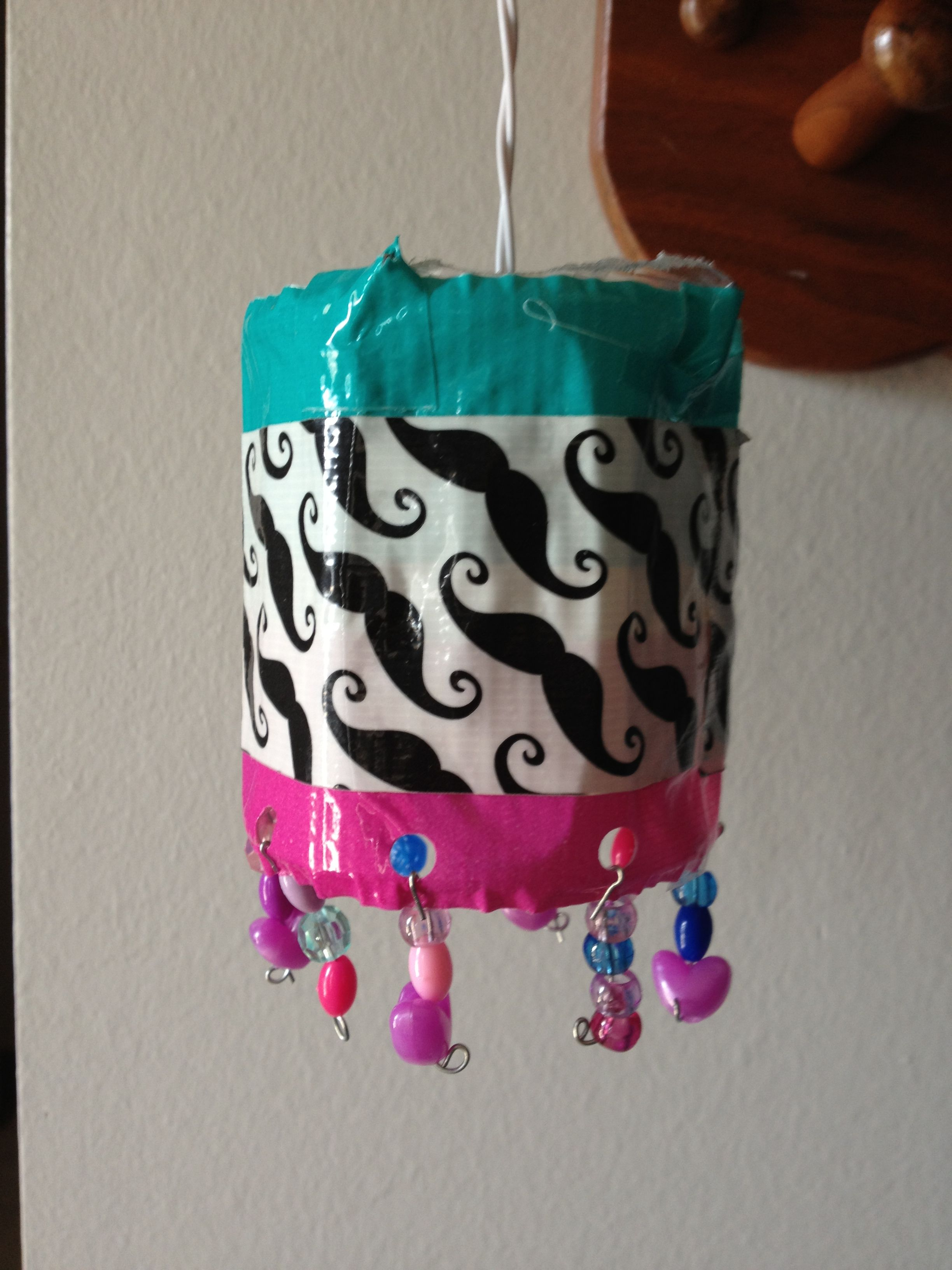 Diy locker chandelier cut top and bottom off a water bottle insert diy locker chandelier cut top and bottom off a water bottle insert a mini arubaitofo Choice Image