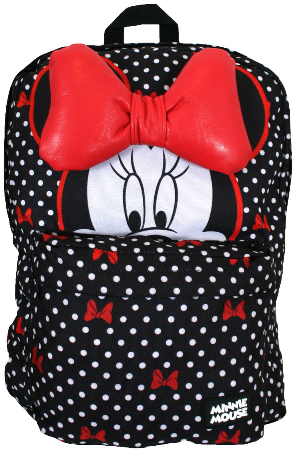 9c95f9e13ff Minnie Mouse Bow Backpack  Disney Mnnie Mouse Backpack