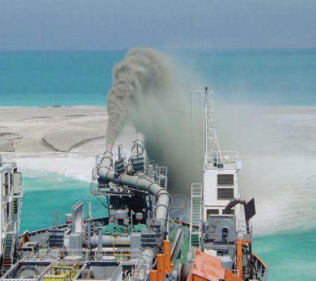 sea dredging - doha qatar   Merchant Navy   Marine