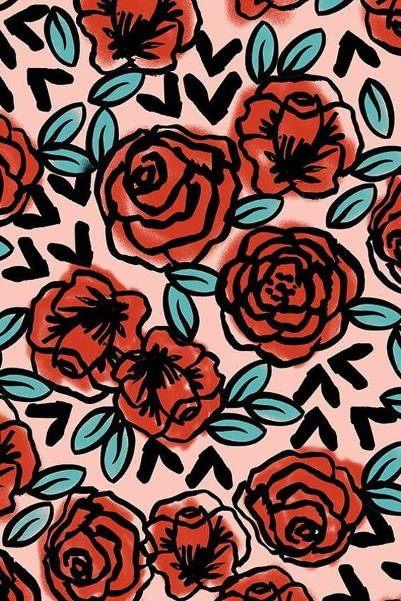 Traditional Roses  - Phone Case (iPhone & Samsung)