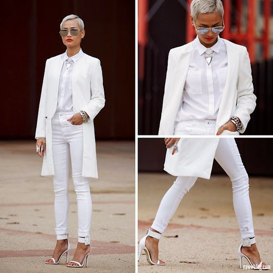 WHITE HOT HEAT | cute | Pinterest | White women, Woman suit and Suits