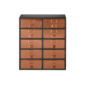 Stow Large Storage Unit Copper Cabinets Storage Made Com Large Storage Units Storage Unit Storage