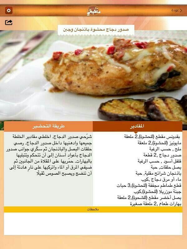 صدور الدجاج بالحشوة Cooking Food And Drink Food