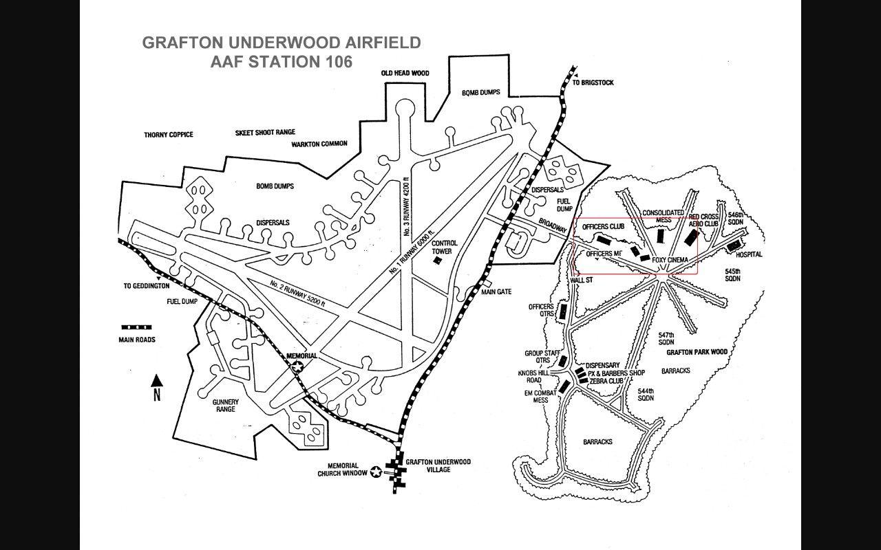 air base map Grafton, Air, Air force bases