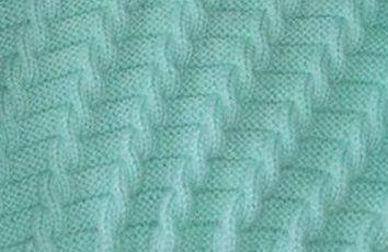 Ponto de trico fácil e lindo. Ele é só de ponto meia e ponto tricô . O  efeito trançado é pela posição dos pontos. Achei a receita do ponto. 473a3d531c7