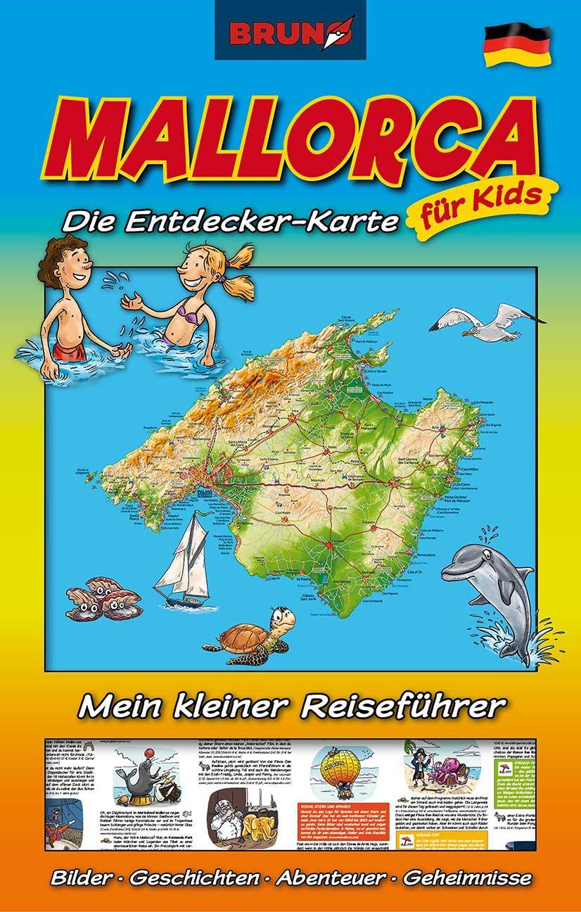 Die Schatzkarte Fur Kleine Entdecker Reisefuhrer Mallorca