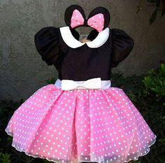 Vestido p festa da minnie