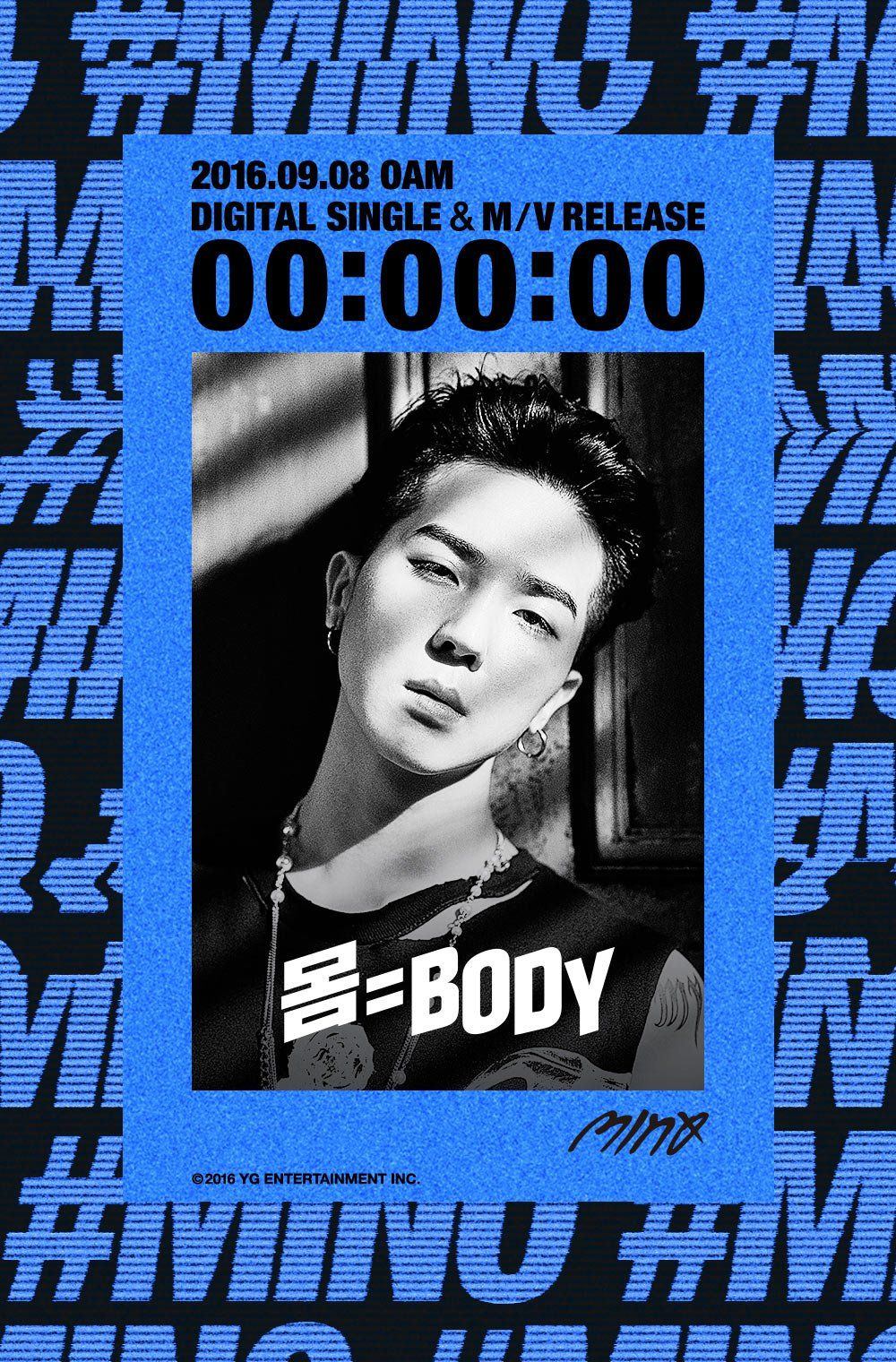 "YG Family on Twitter: ""[MINO - '몸=BODY' COUNTER] originally posted by https://t.co/XZQ3IOZLby #송민호 #미노 #마이노 #송다정 #DIGITALSINGLE #MV #0AM https://t.co/3m4FZtBlmJ"""