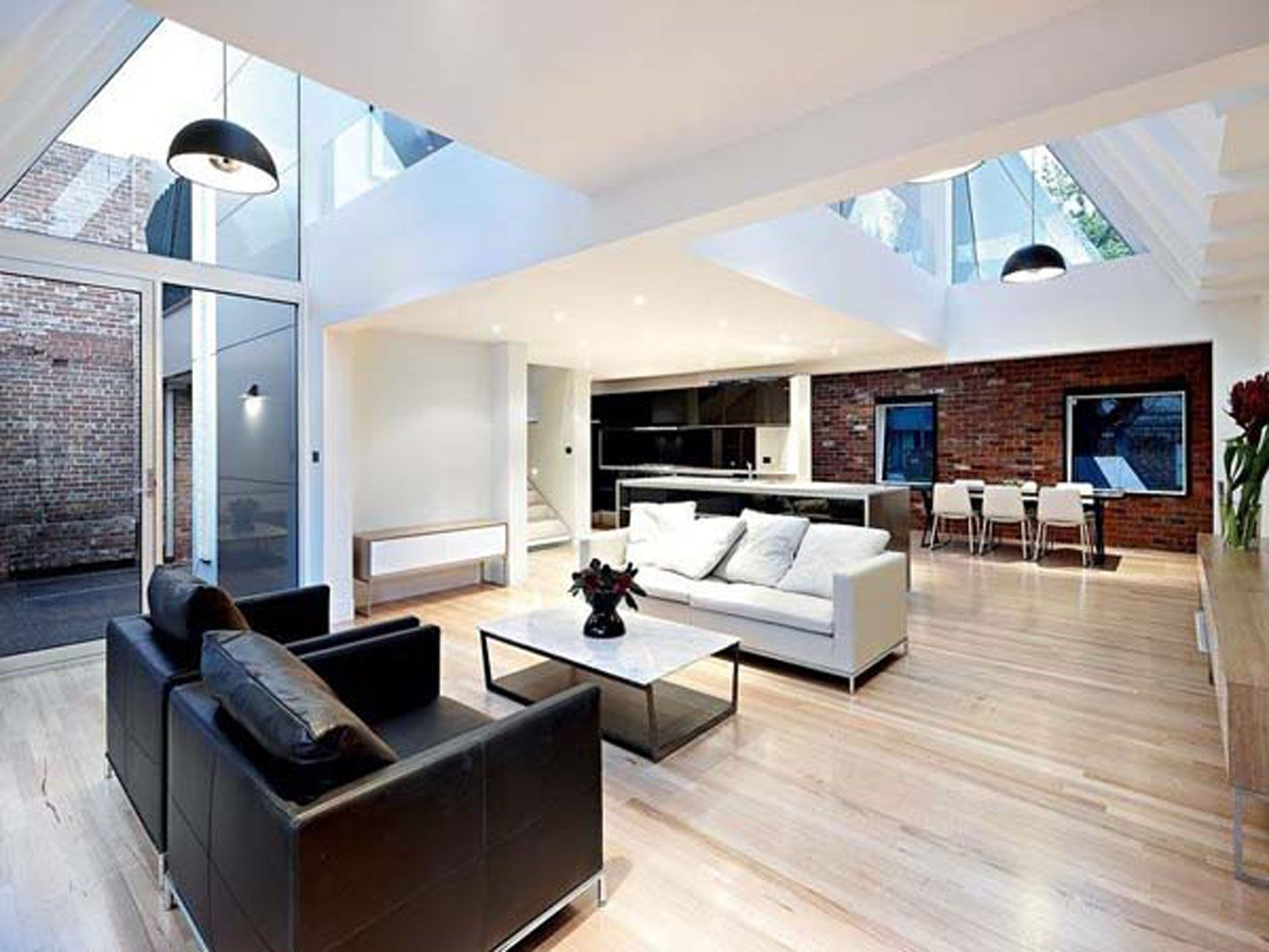 23 Modern Interior Design Ideas For The Perfect Home Godfather Style Modern Houses Interior Open Concept Living Room Modern Interior Design