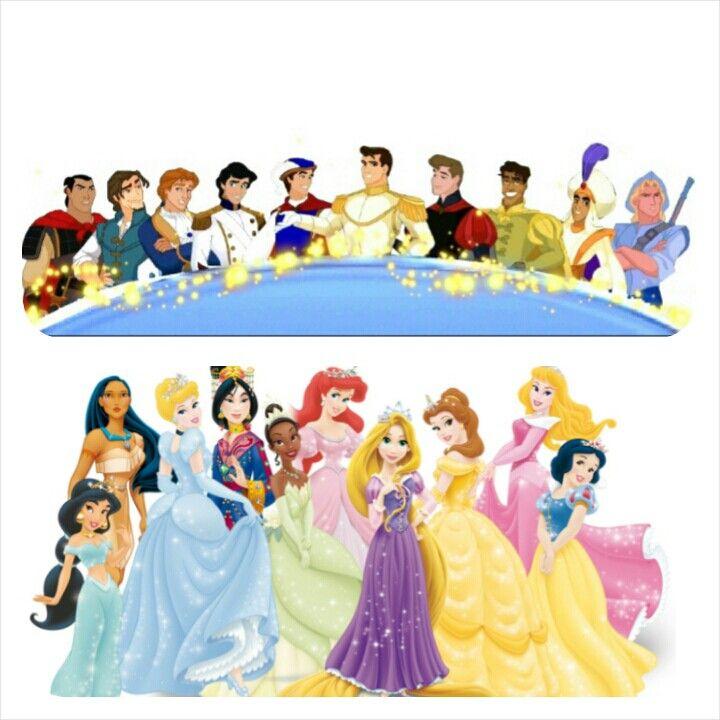 Disney Princes And Princesses Disney Princes Disney