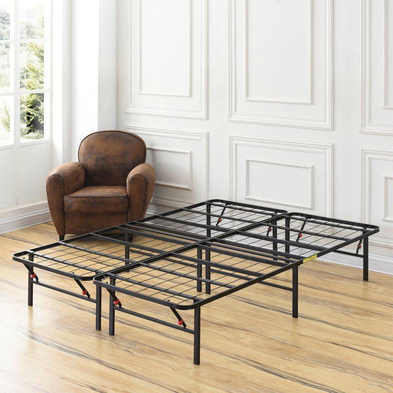 Hiett Platform Bed Frame Bed frame sizes, Metal platform