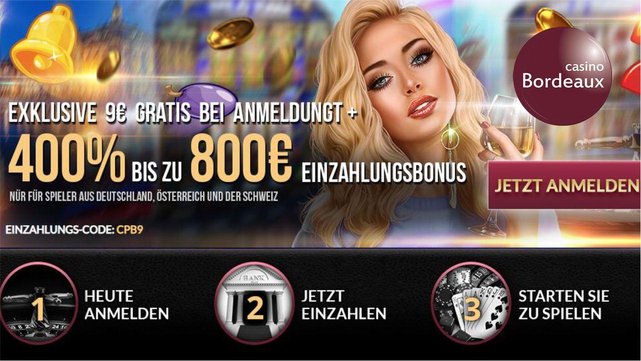 Bordeaux Casino Bonus