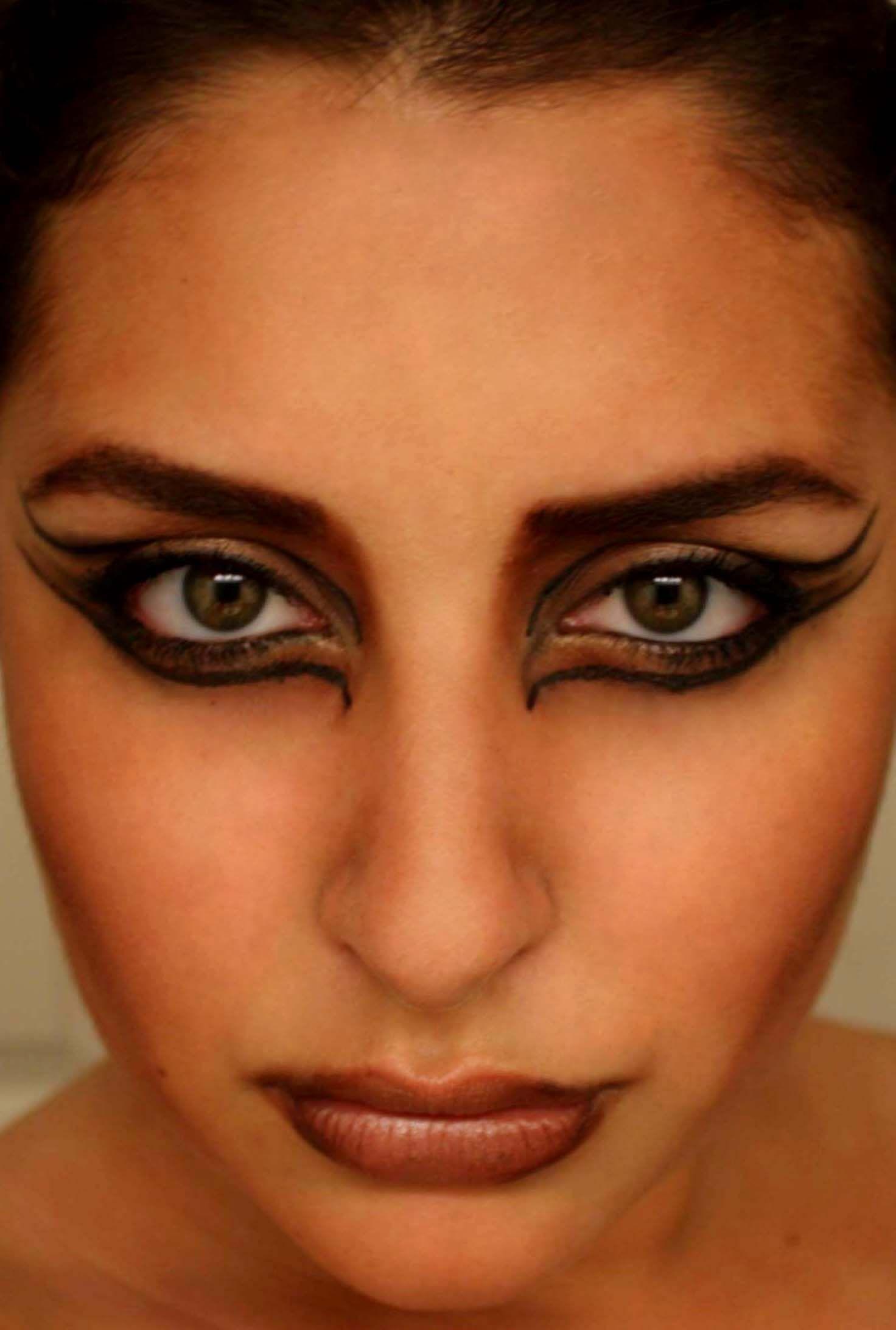 Cougar Halloween Makeup.Pin On My Makeup Creations