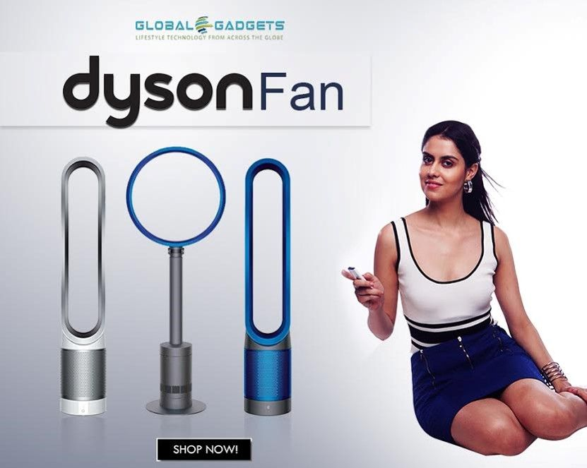 No More Choppy Air These Bladeless Dyson Fans Produce High