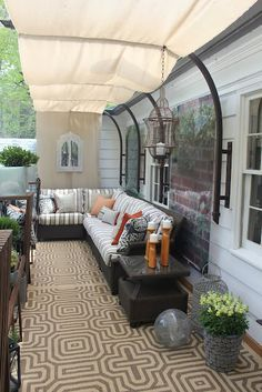 shade narrow patios - Google Search | Outdoors | Pinterest | Smart ...