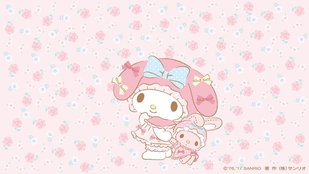 My Melody Sanrio Wallpaper Melody Hello Kitty Hello Kitty Wallpaper