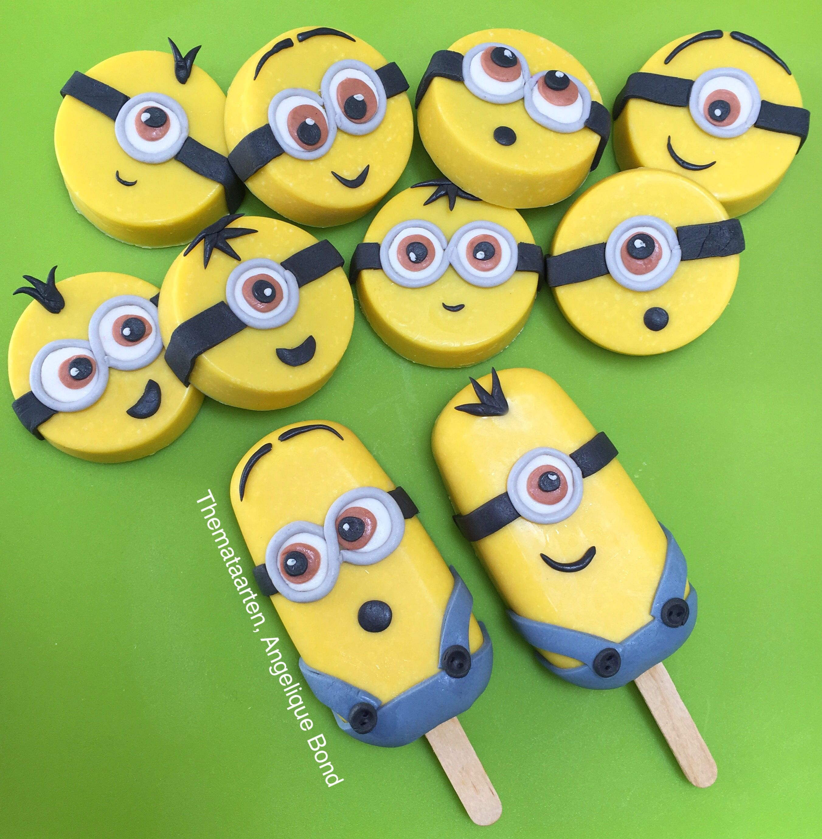 Minion Choco Lolly S And Oreo Cookie Chocs Made By Angelique