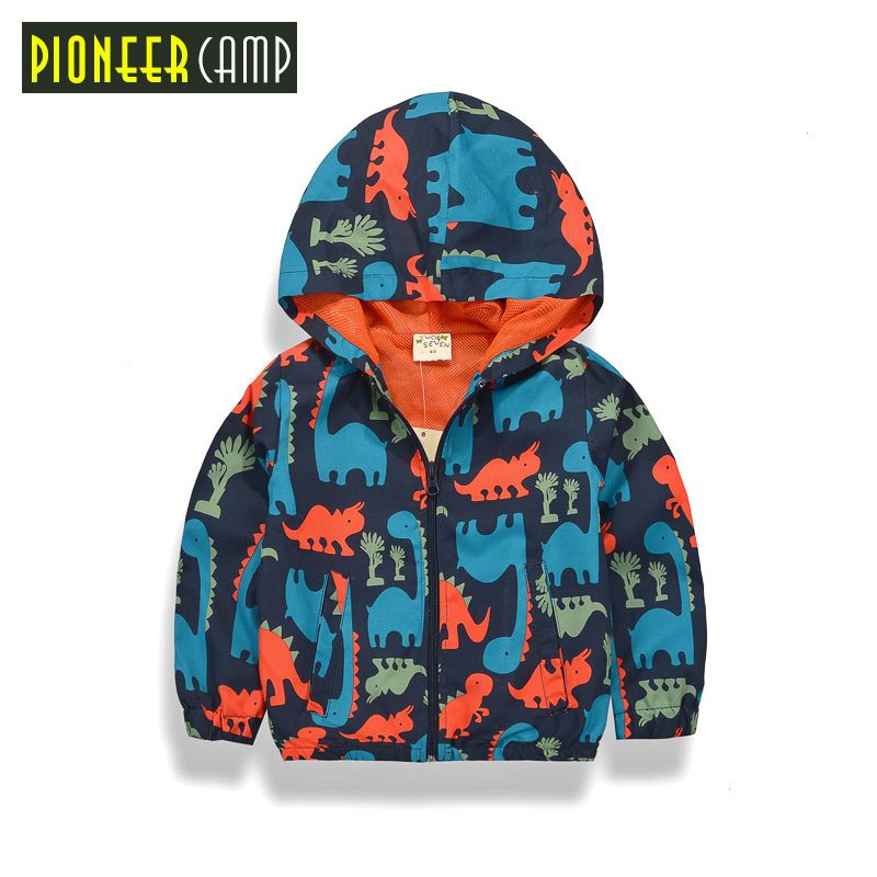 iXTREME Boys Colorblock Jacket with Dino