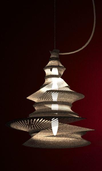 3d Printed Lampshade By Studioluminaire Com Svetilniki Lampa