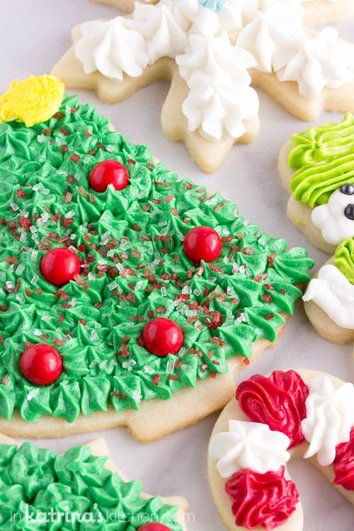 Christmas Cookie Frosting.Christmas Cookie Frosting