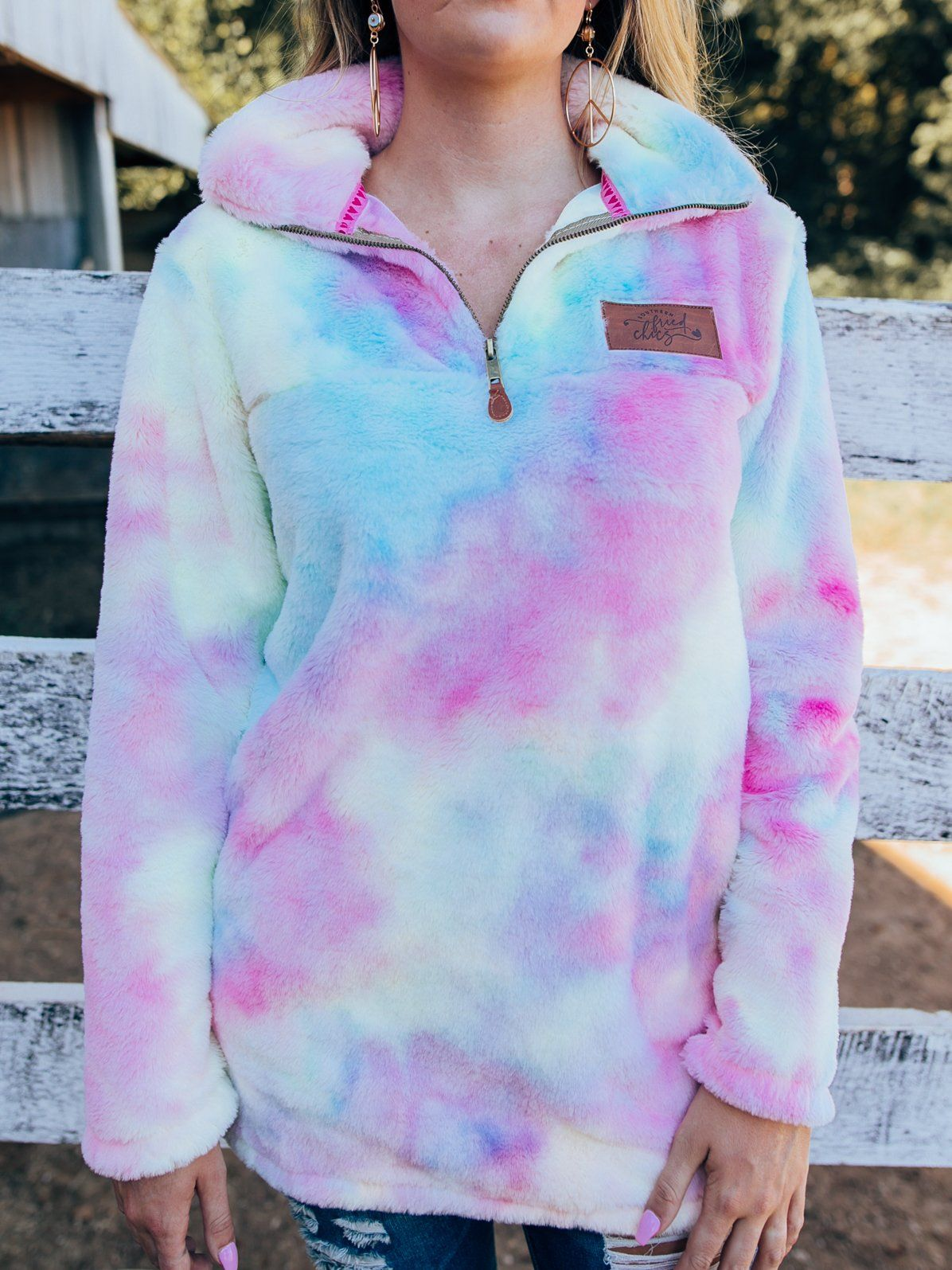 Cotton Candy Tie Dye Sherpa In 2021 Tie Dye Candy Clothes Cotton Candy [ 1595 x 1196 Pixel ]