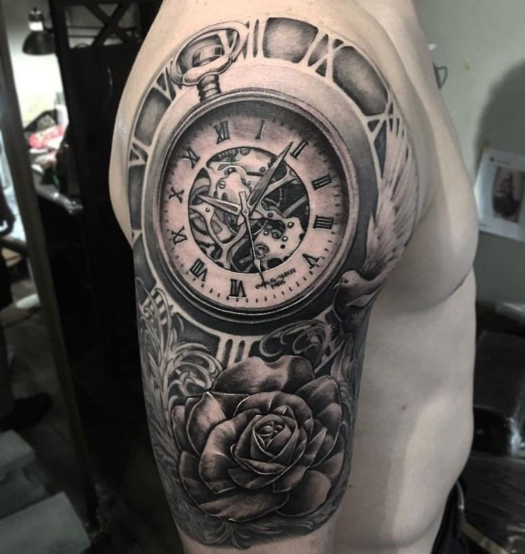 tatouage épaule idée tatouage homme bras