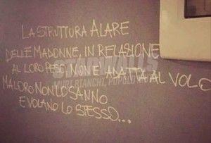 Star Walls - Scritte sui muri. — Maria Santissima