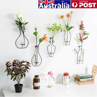 Find Many Great New Used Options And Get The Best Deals For Glass Plant Flower Pot Rack Artificial Flow Hanging Terrarium Decor Hanging Vases Terrarium Decor