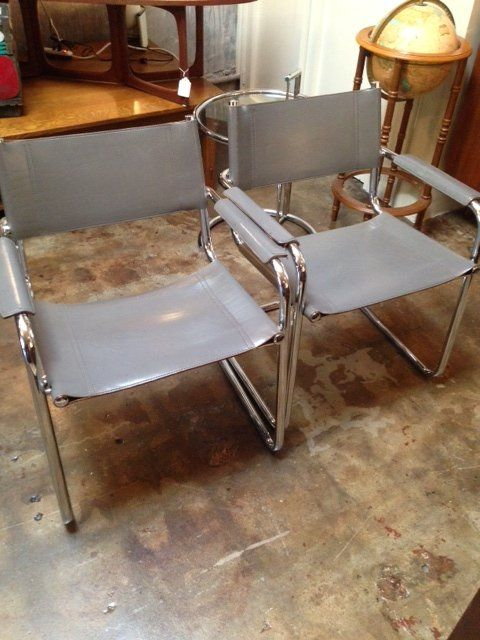 Vintage Chrome Chairs MCM Wasilly Style Chair In 5364 West Pico Boulevard,  Los Angeles,