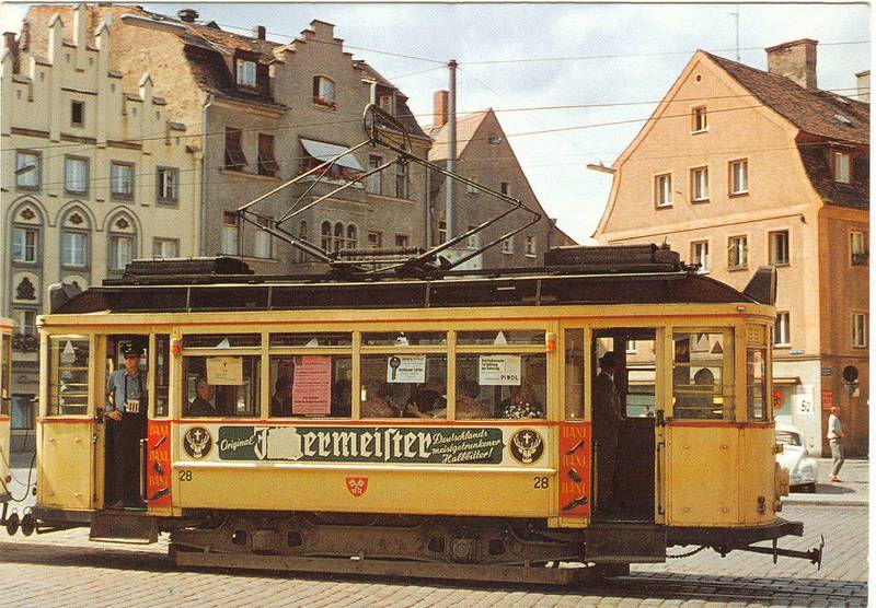 Eisenbahnfreunde Regenstauf   Regensburg, Straßenbahn