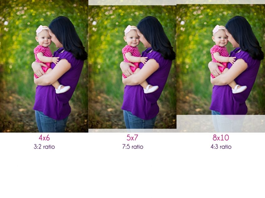 cropping small prints aspect ratios explained
