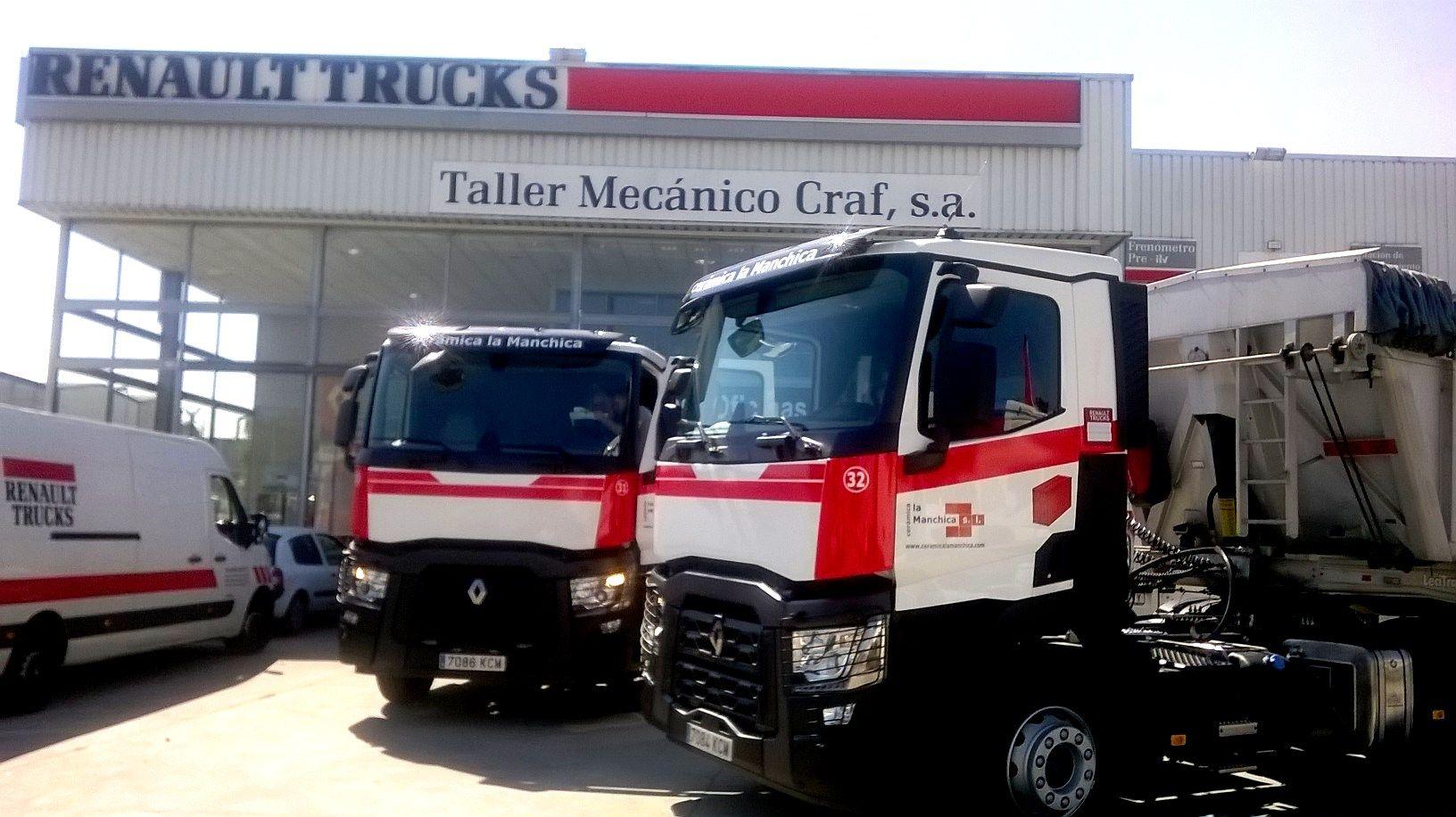 Renault Trucks C 460 T4x2 Taller Vehiculos