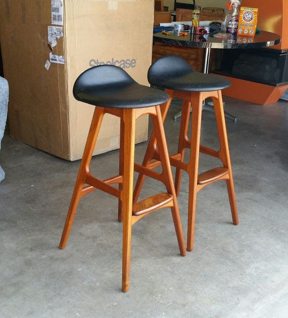 Luxury Bar Stools Mid Century