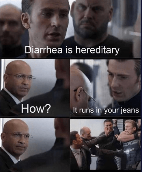 Captain America's Got Dad Jokes For Days In This New Meme