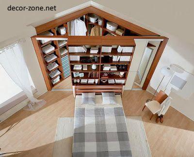 idée d\u0027aménagement maison  un dressing dans un coin de chambre