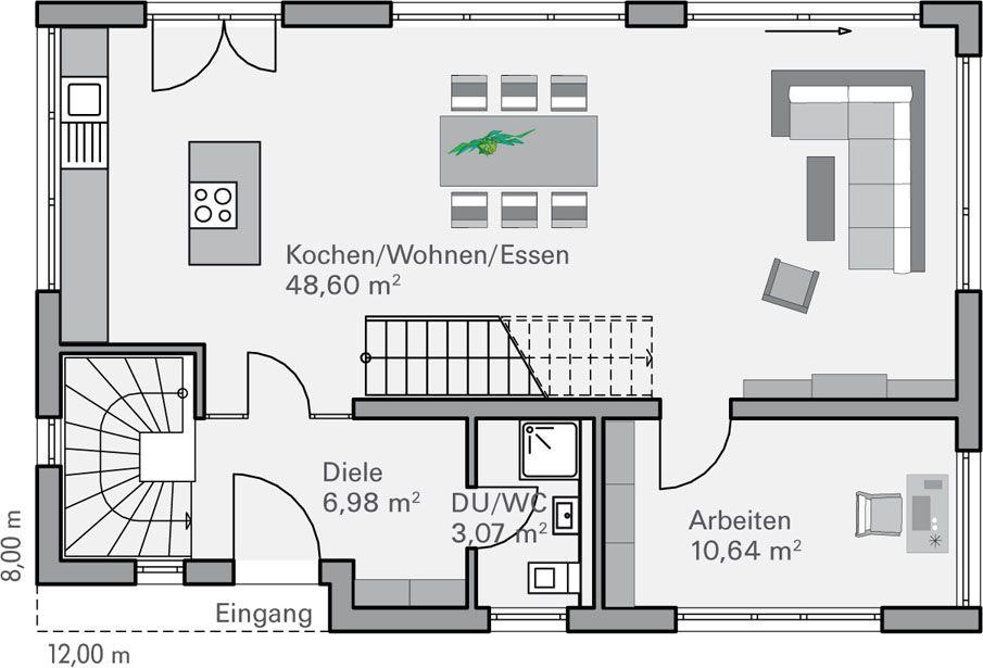 grundriss eg fendt grundrisse pinterest grundriss haus grundriss und grundriss. Black Bedroom Furniture Sets. Home Design Ideas