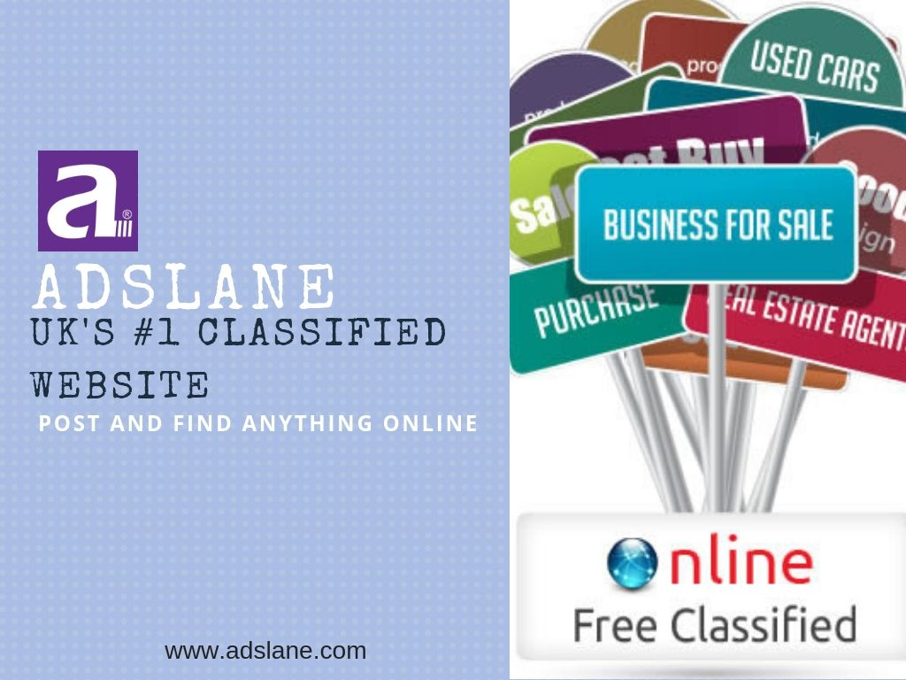 Adslane is a best free classified advertisement website to