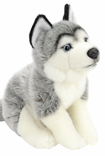 Let's ban toy guns!!! Wolf plush, Plush dog toys, Dog