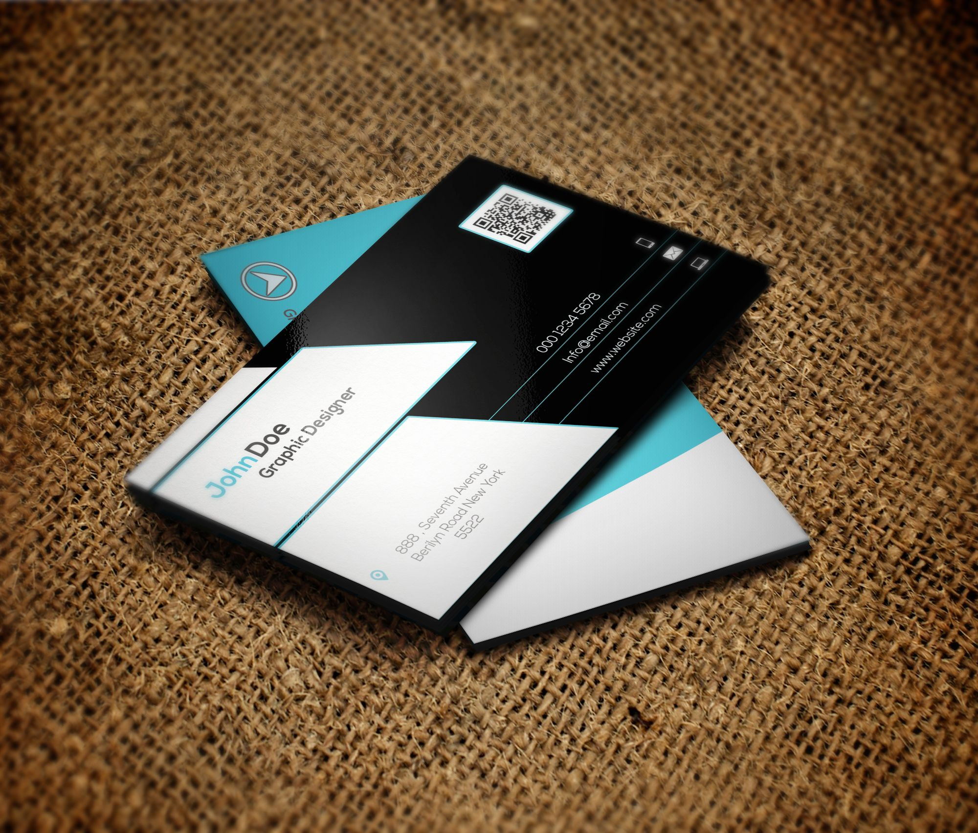 Free Business Card Template Graphic Design Inspiration Best Home Idea