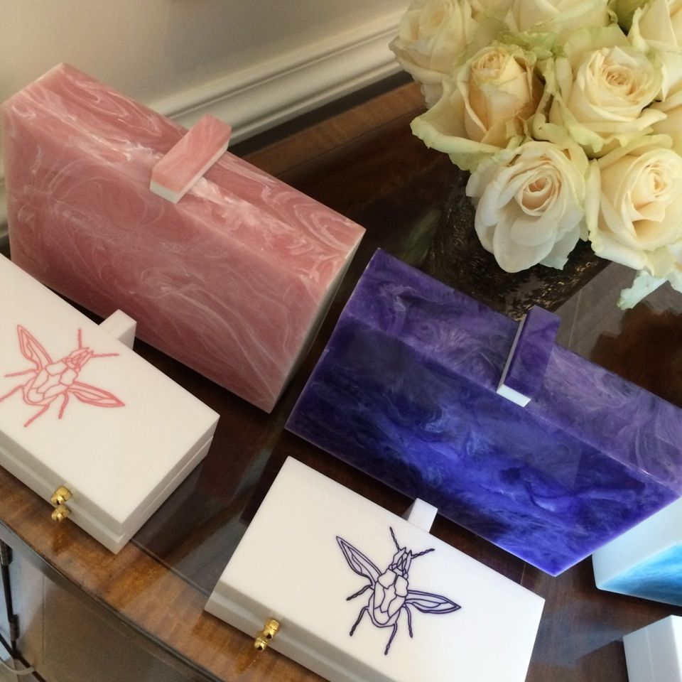 If only life could look like a Lilian Afshar clutch. http://www.thecoveteur.com/kristen-noel-gipson-pfw/