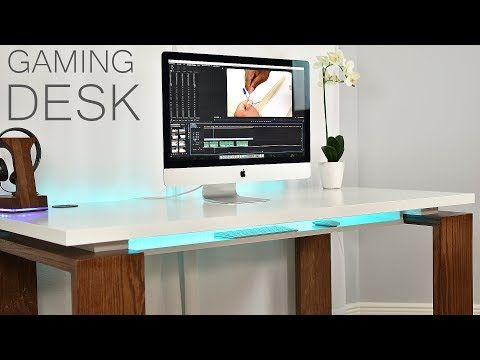 Marvelous (17) Minimalist Gaming Desk | DIY Creators   YouTube