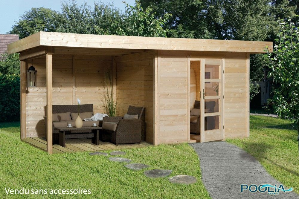 Abri de Jardin Lounge 3 - WEKA   DECO maison en 2019   Abri ...
