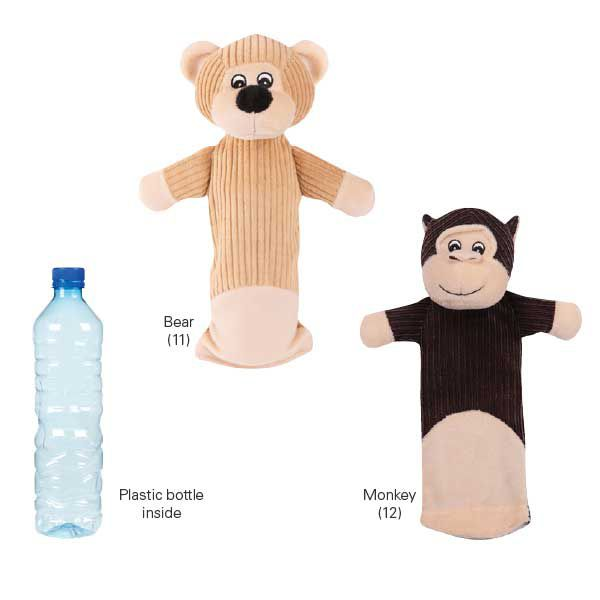 Grriggles Bottleby Bear Dog Toy He Does Love The Water Bottle