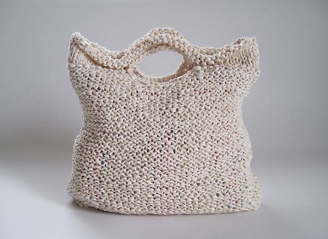 """KNIT BAG """"ODEKAKE"""" 